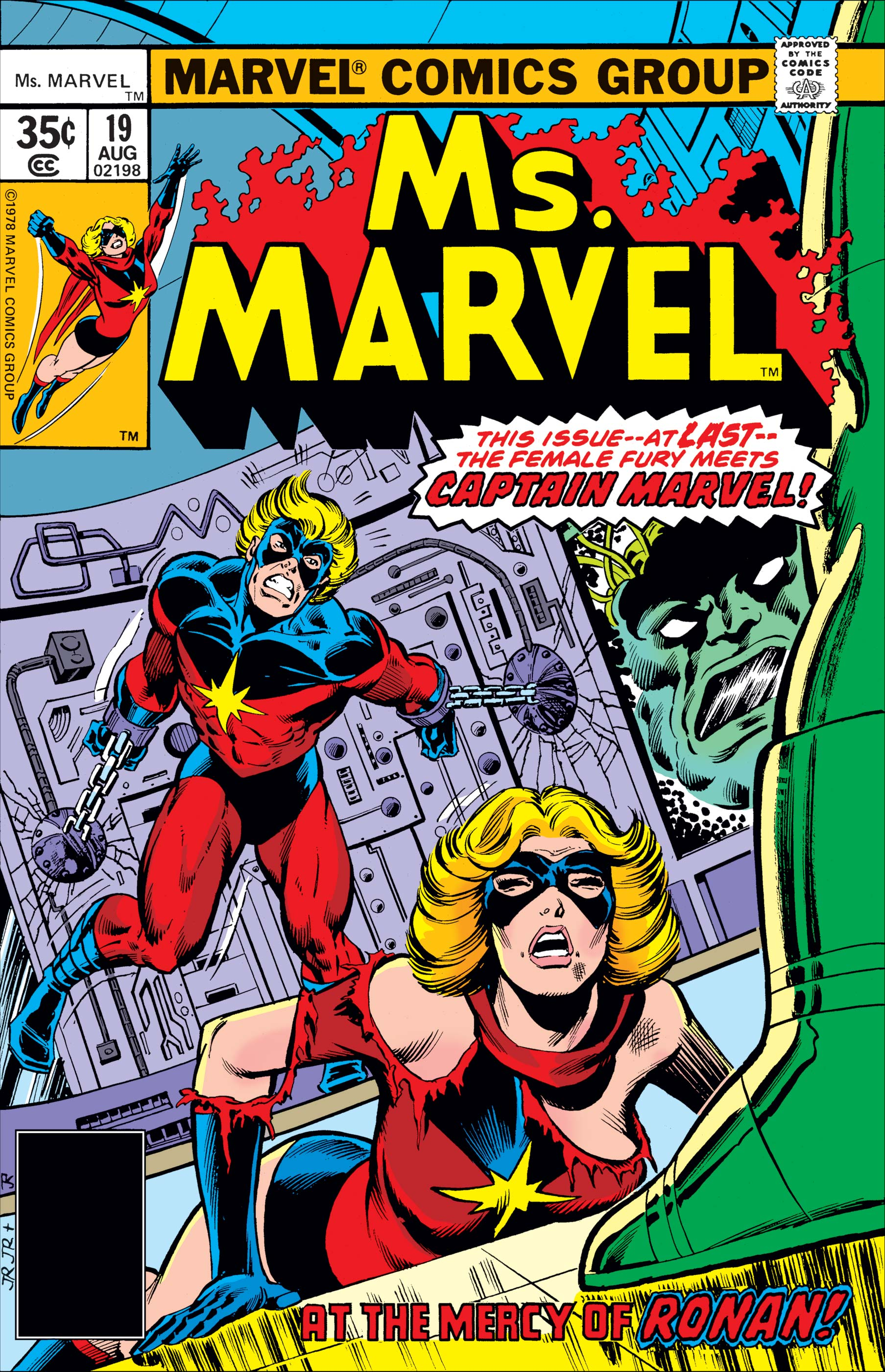 Image result for ms marvel #19