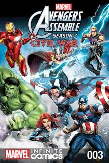 Marvel Universe Avengers Assemble: Civil War (2017) #3
