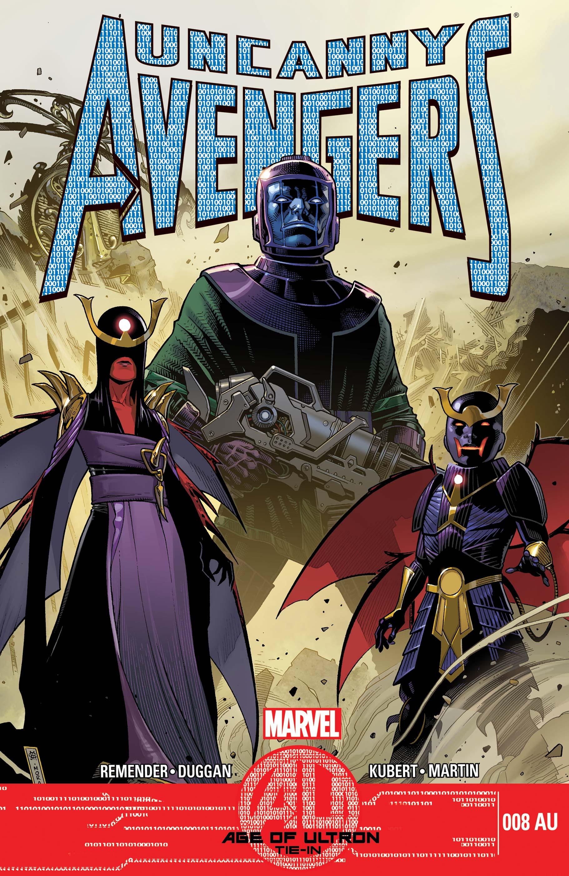 Uncanny Avengers (2012) #8