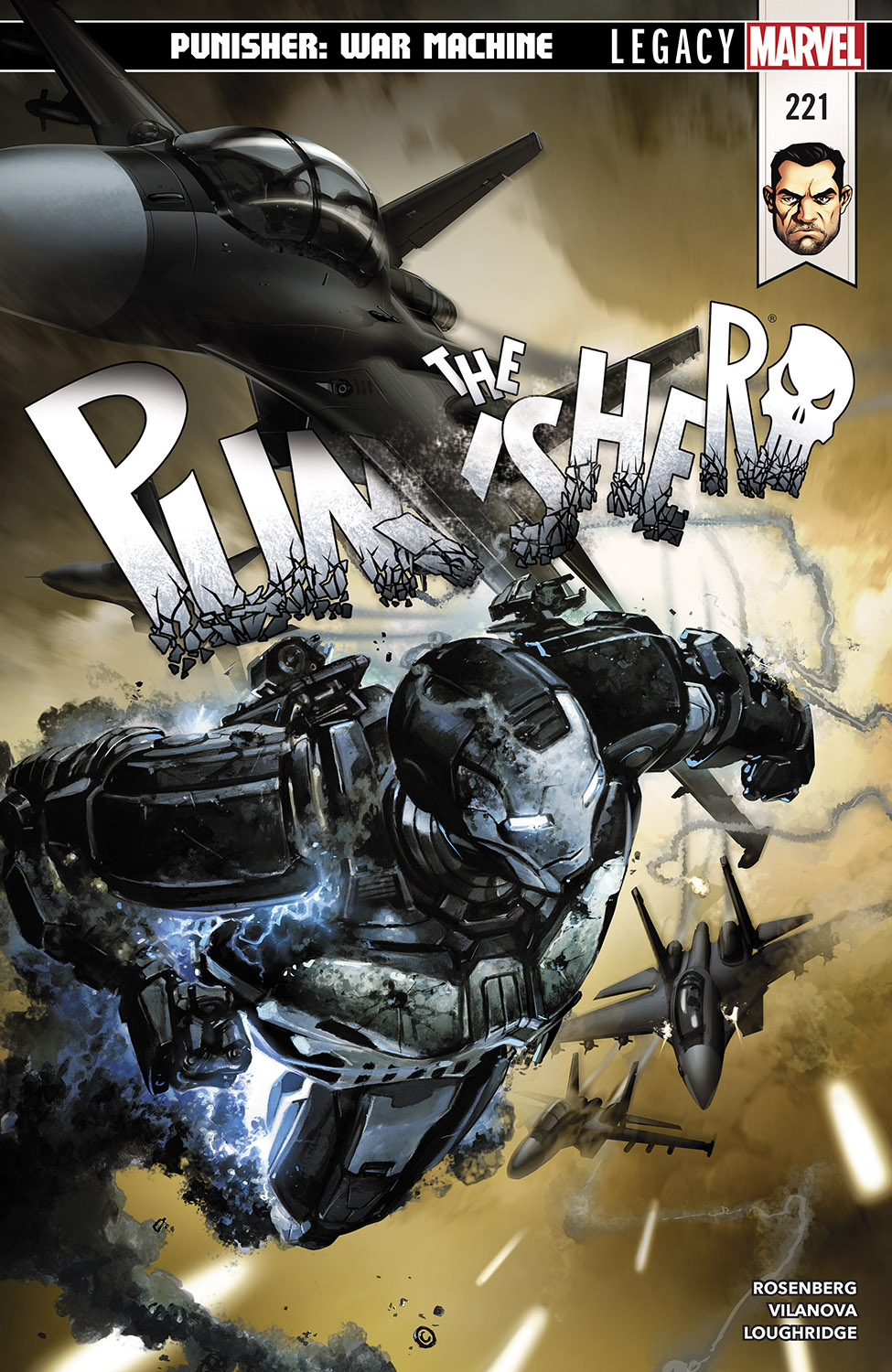 The Punisher (2016) #221