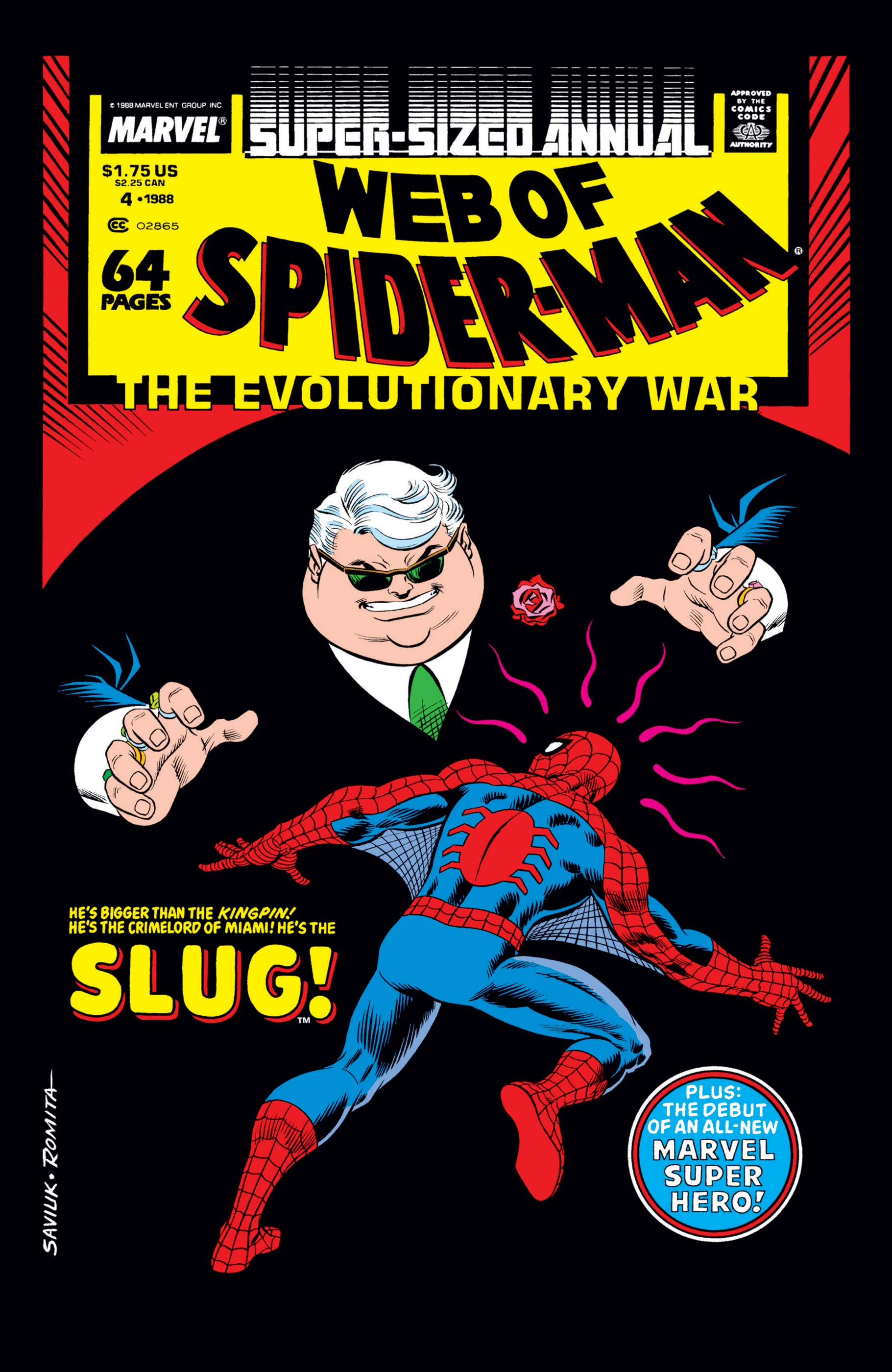 Web of Spider-Man Annual (1985) #4