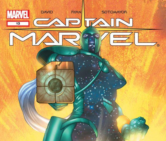 Captain Marvel (2002) #13