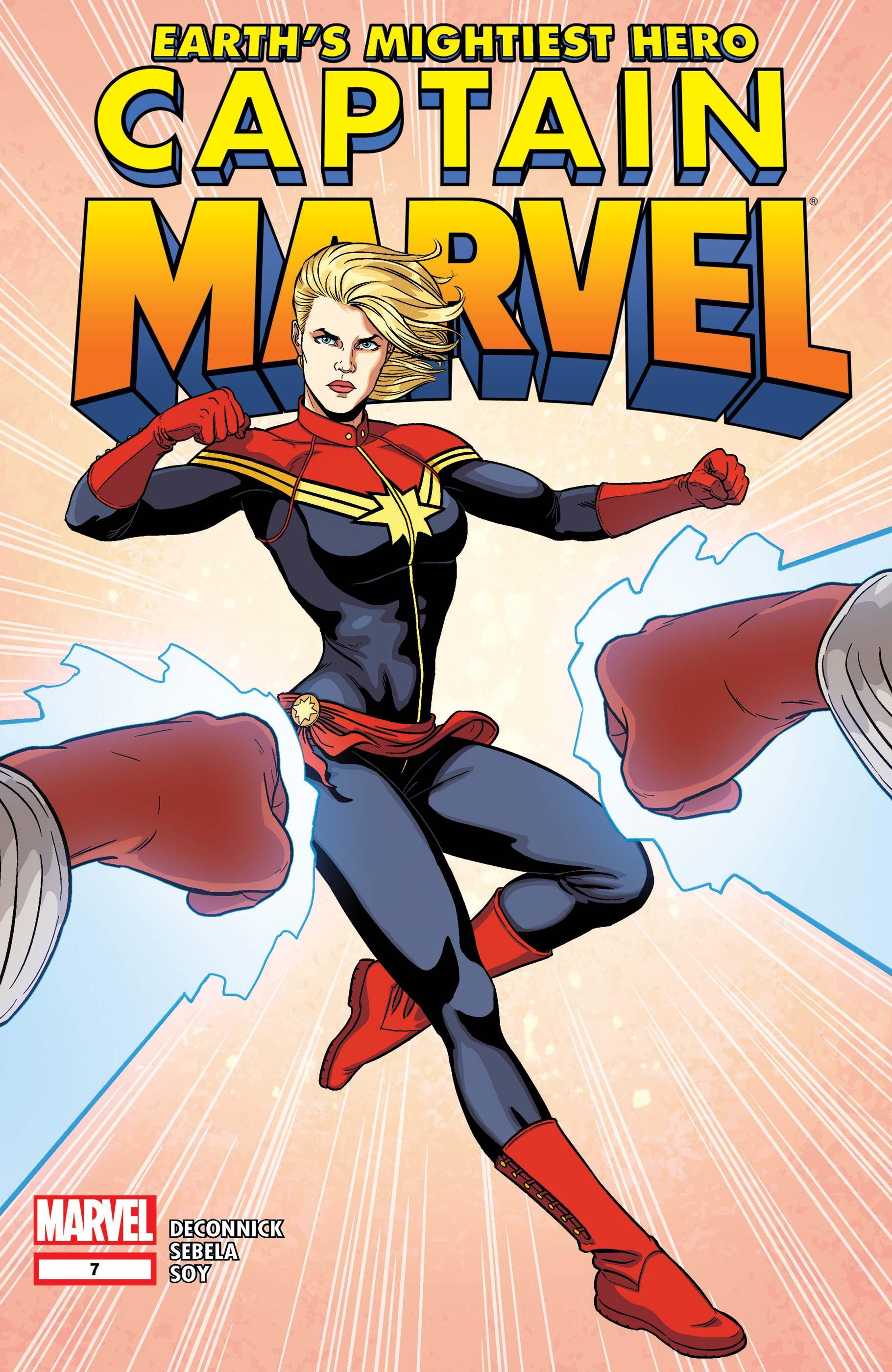 Captain Marvel (2012) #7