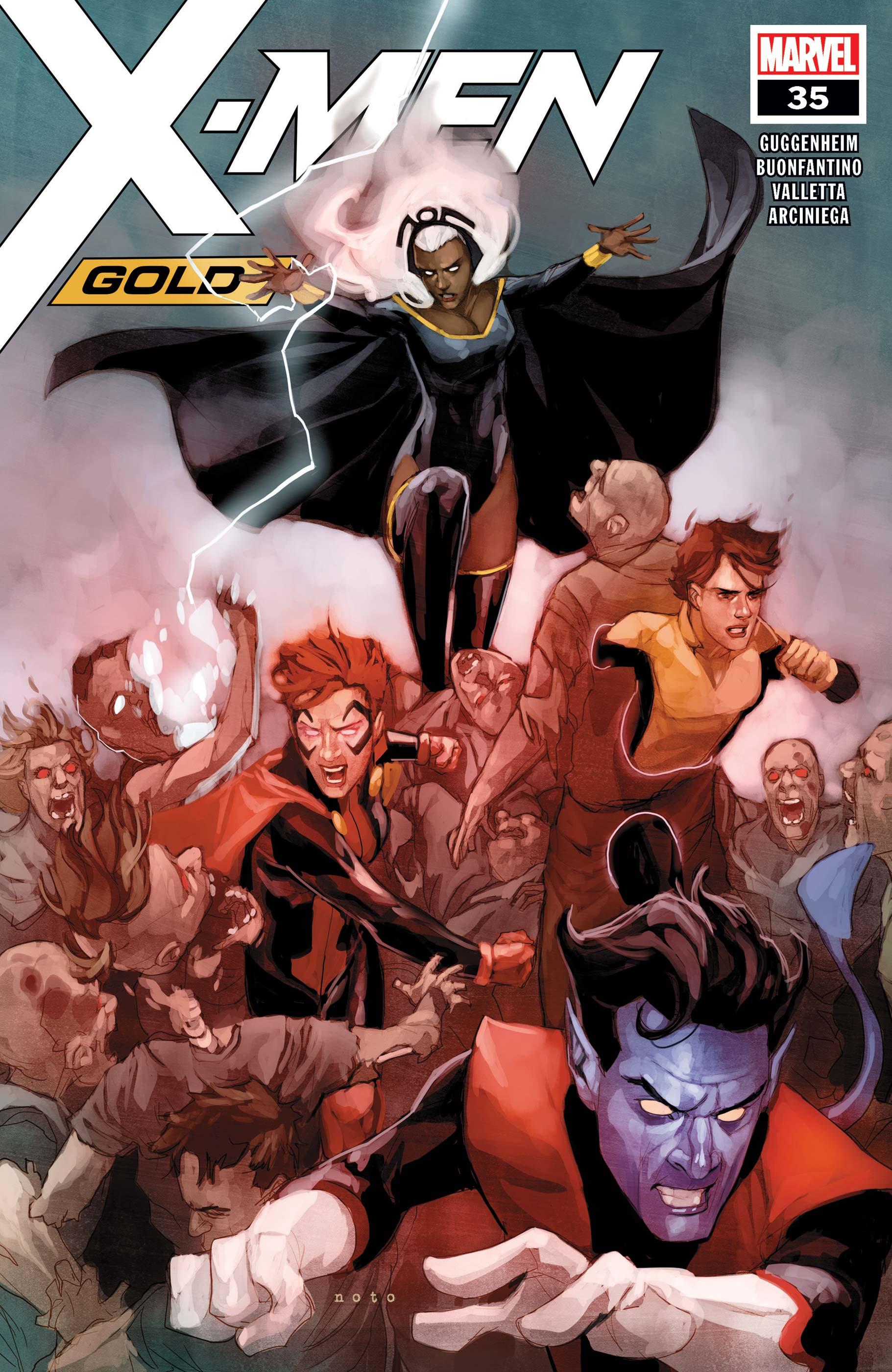 X-Men: Gold (2017) #35