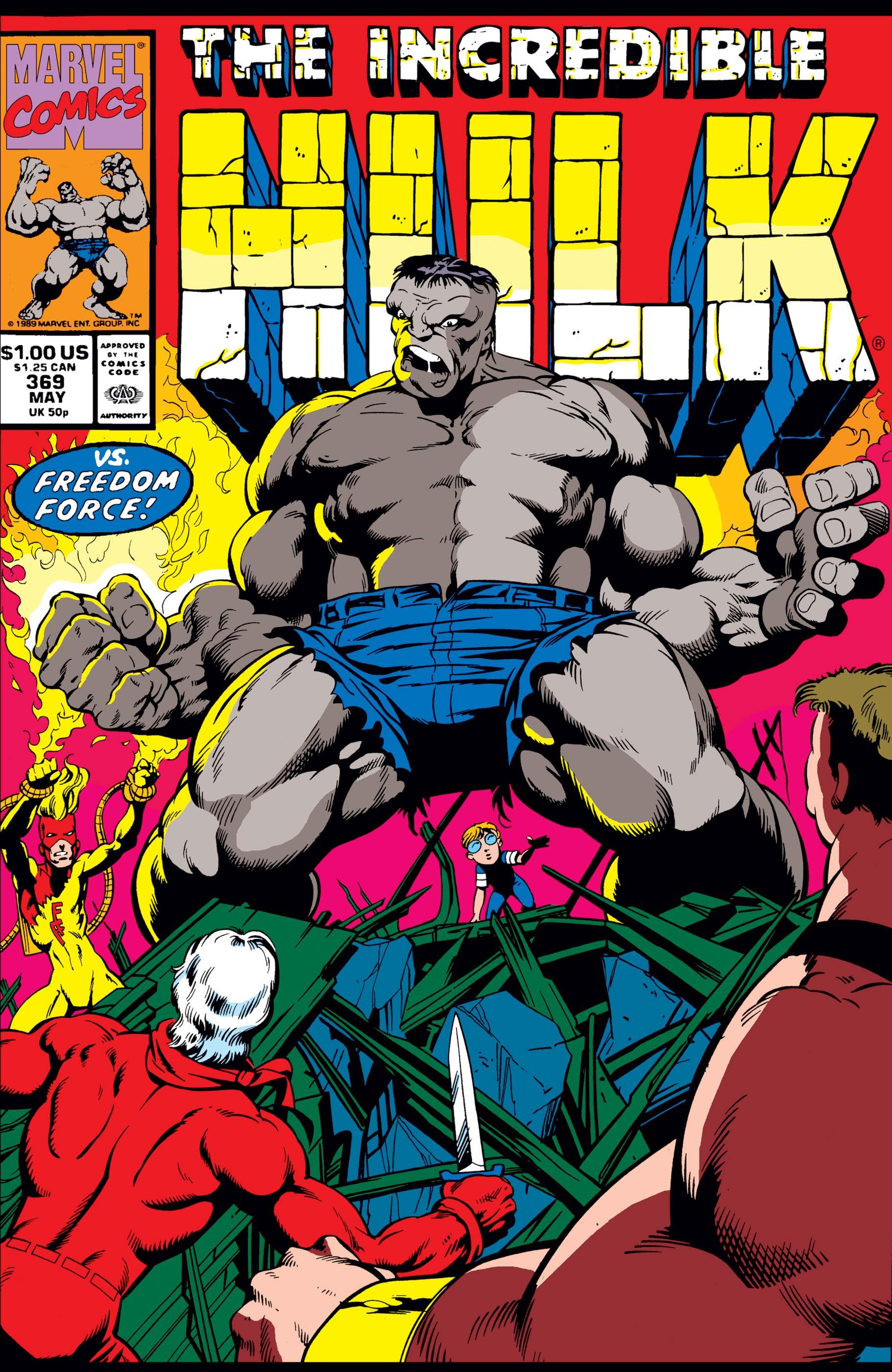 Incredible Hulk (1962) #369