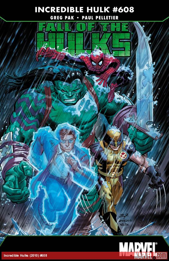 Incredible Hulks (2010) #608