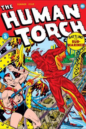 Human Torch Comics #8