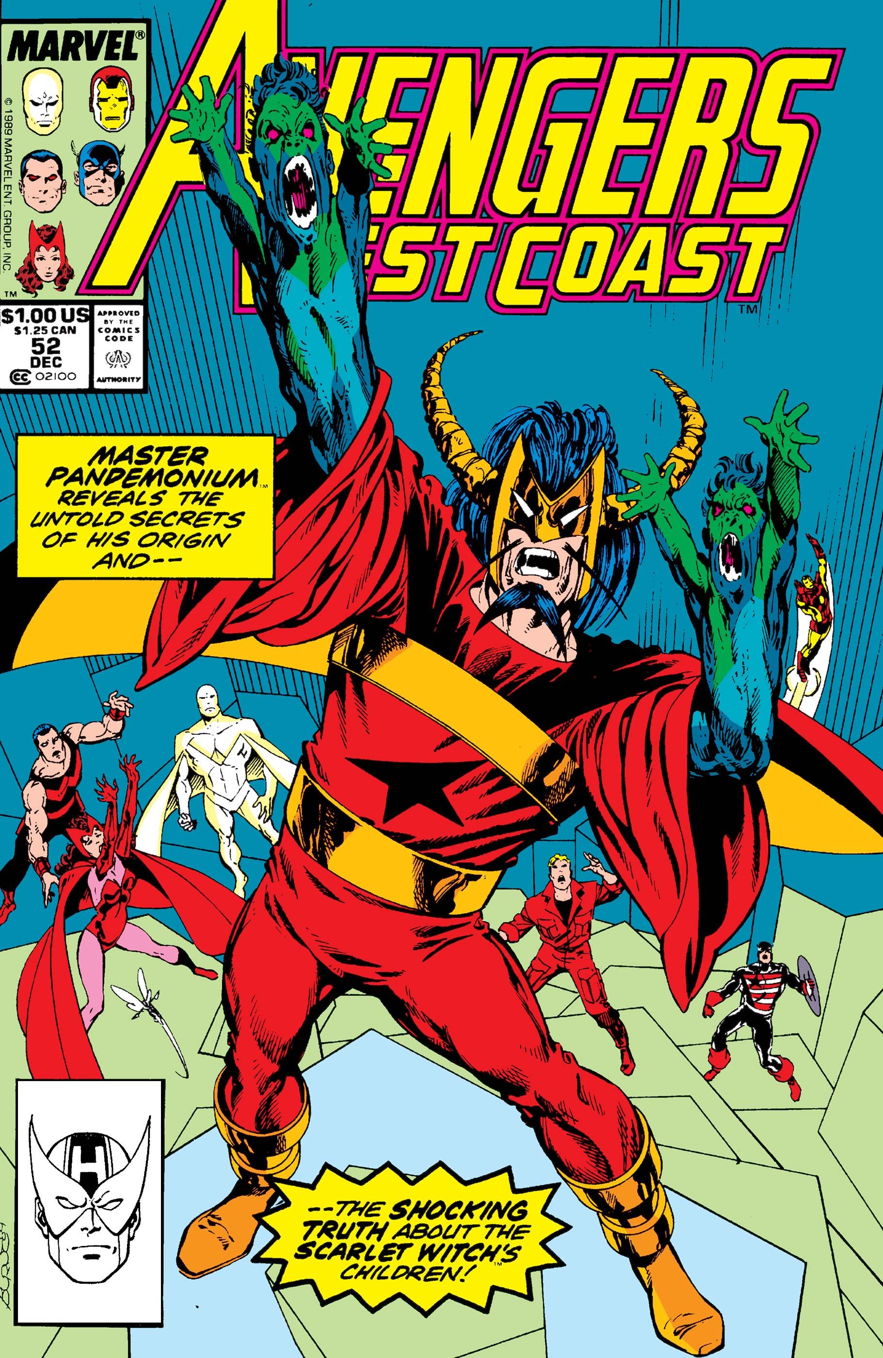 West Coast Avengers (1985) #52