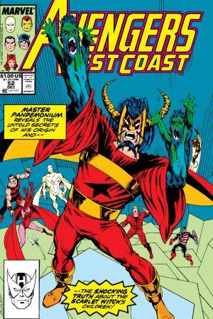 West Coast Avengers #52