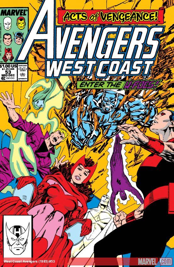 West Coast Avengers (1985) #53