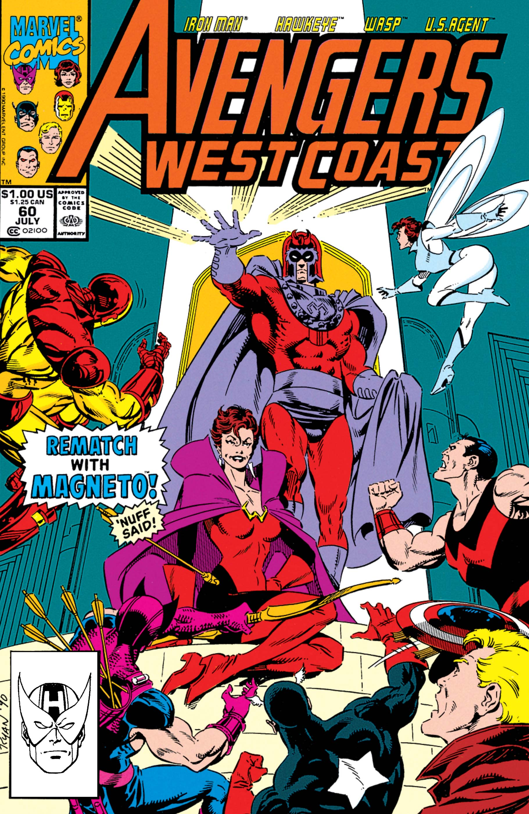 West Coast Avengers (1985) #60