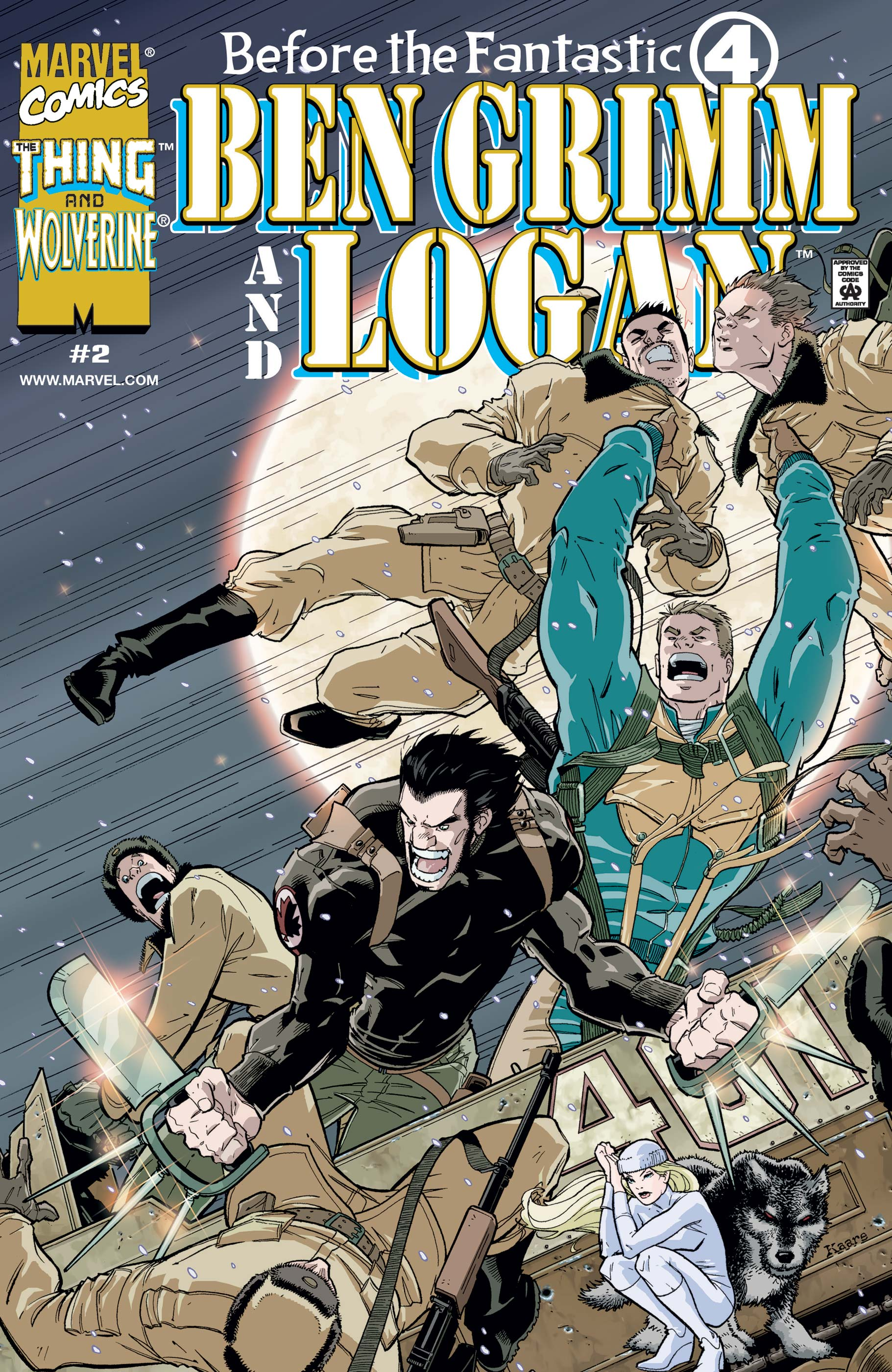 Before the Fantastic Four: Ben Grimm & Logan (2000) #2