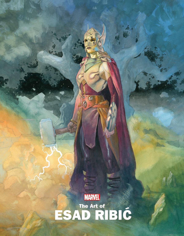 Marvel Monograph: The Art Of Esad Ribic (Trade Paperback)