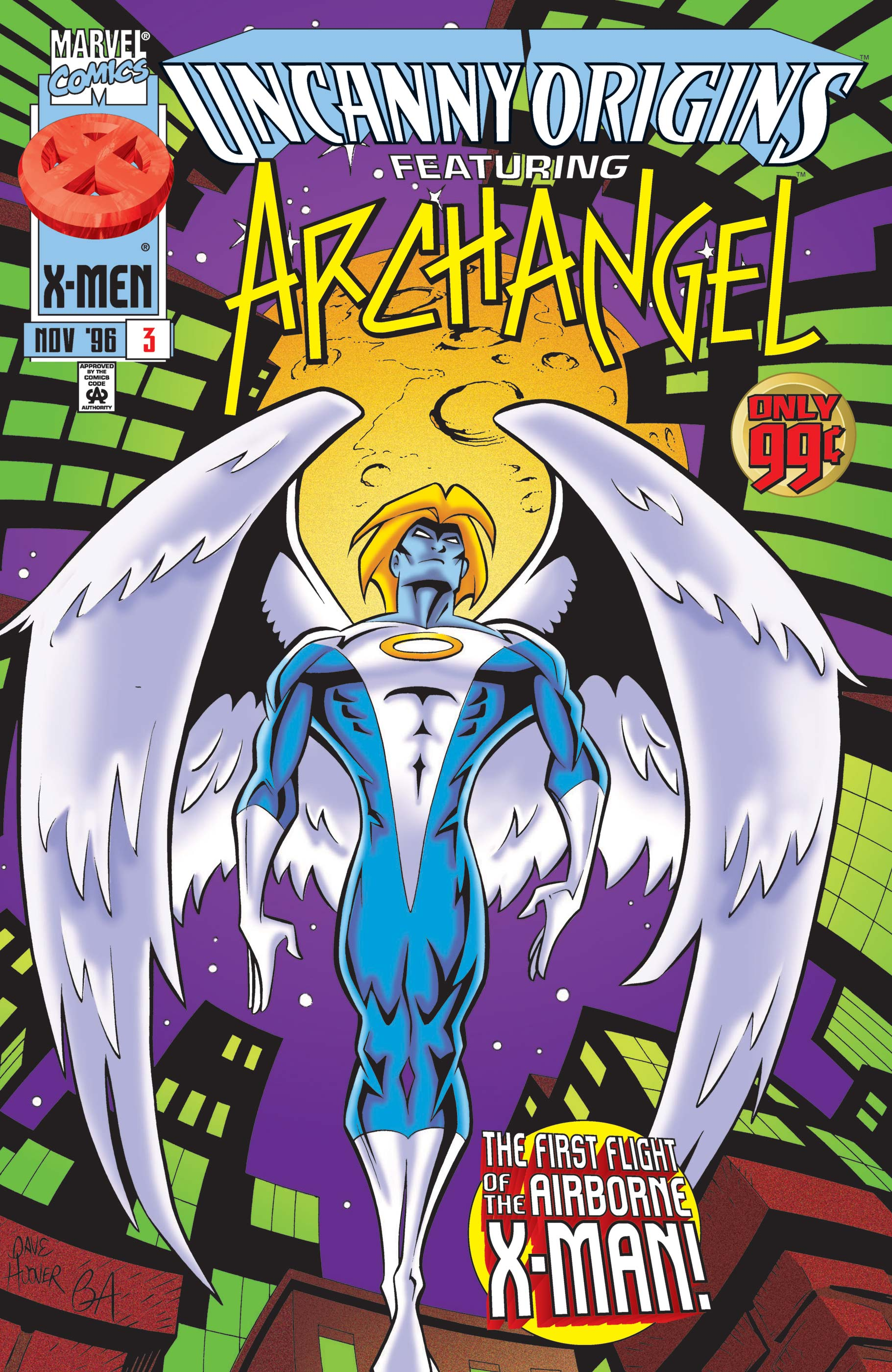 Uncanny Origins (1996) #3