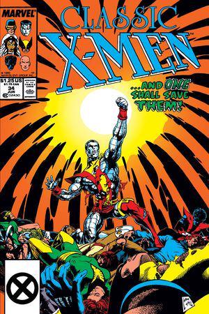 Classic X-Men #34