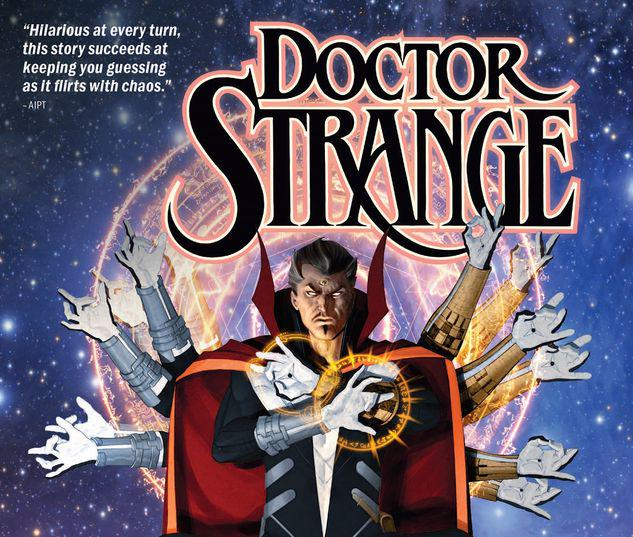 DOCTOR STRANGE BY MARK WAID VOL. 4: THE CHOICE TPB #4