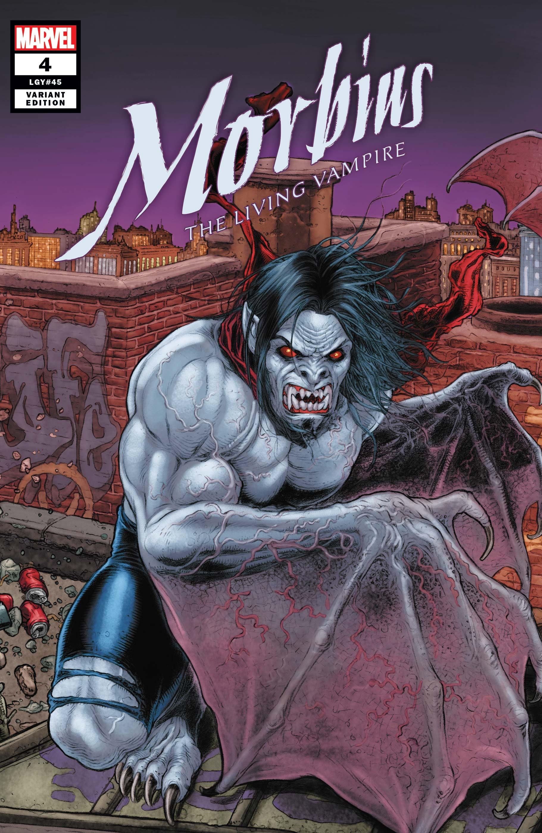 Morbius (2019) #4 (Variant)