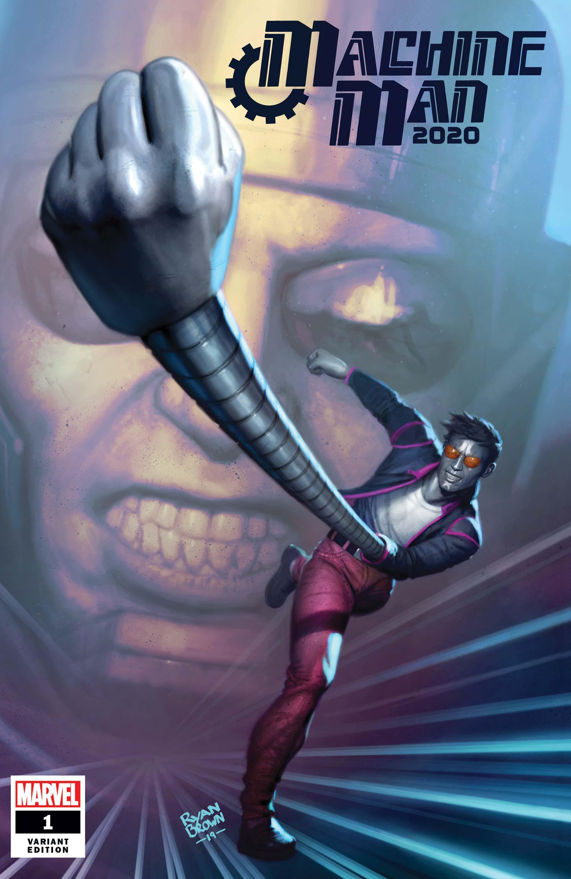 2020 Machine Man (2020) #1 (Variant)