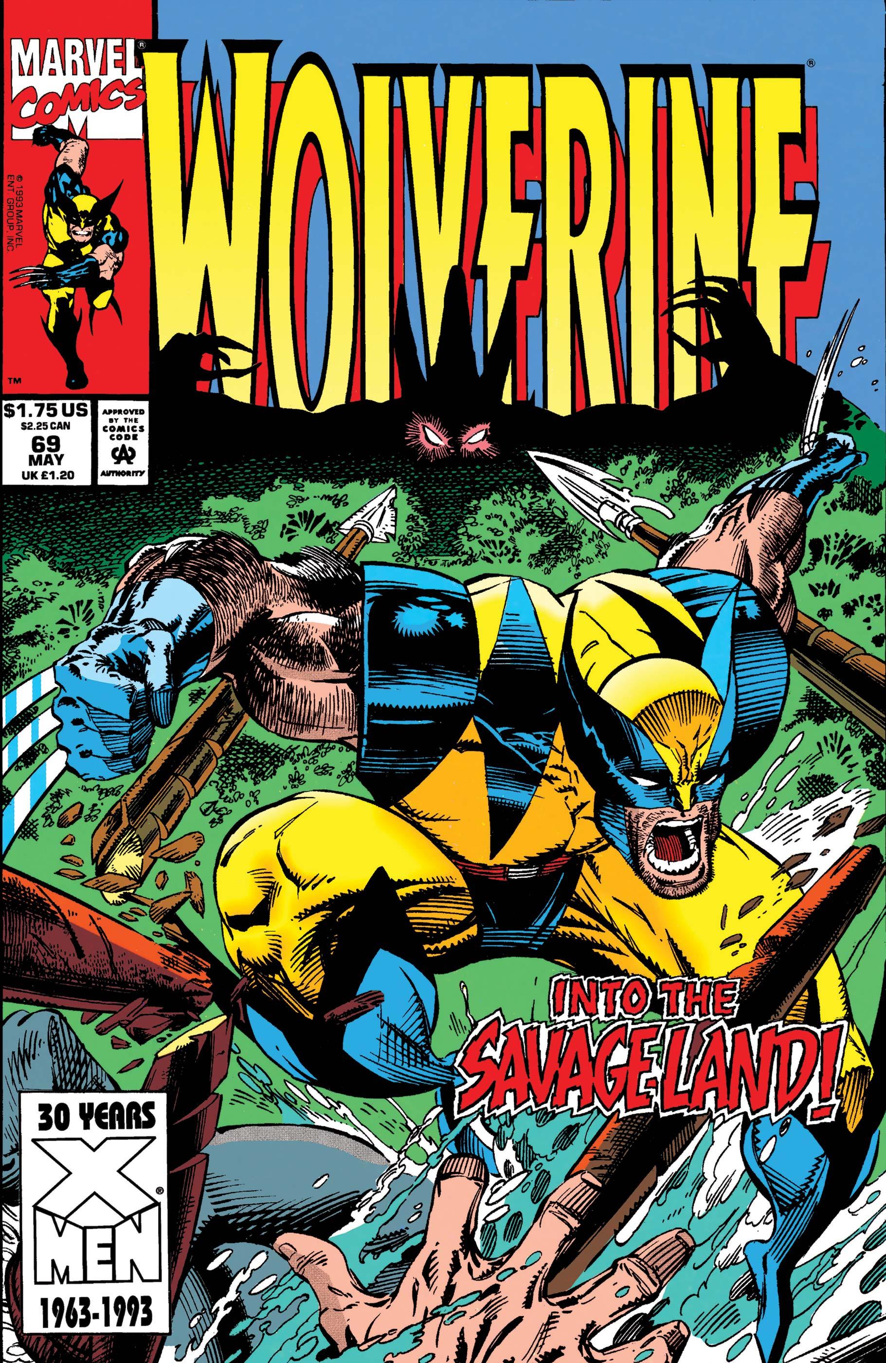 Wolverine (1988) #69