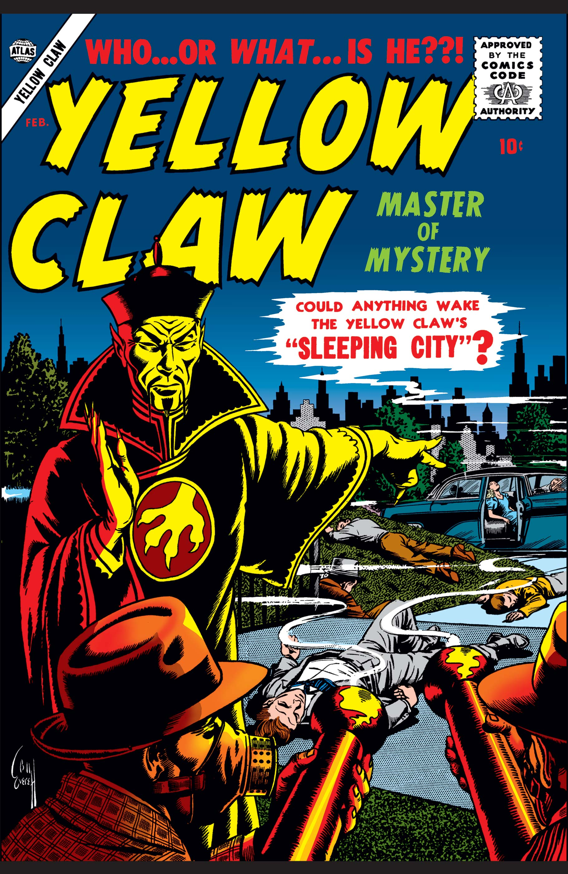 Yellow Claw (1956) #3