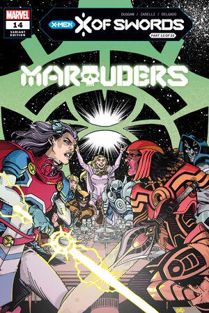 Marauders #14  (Variant)