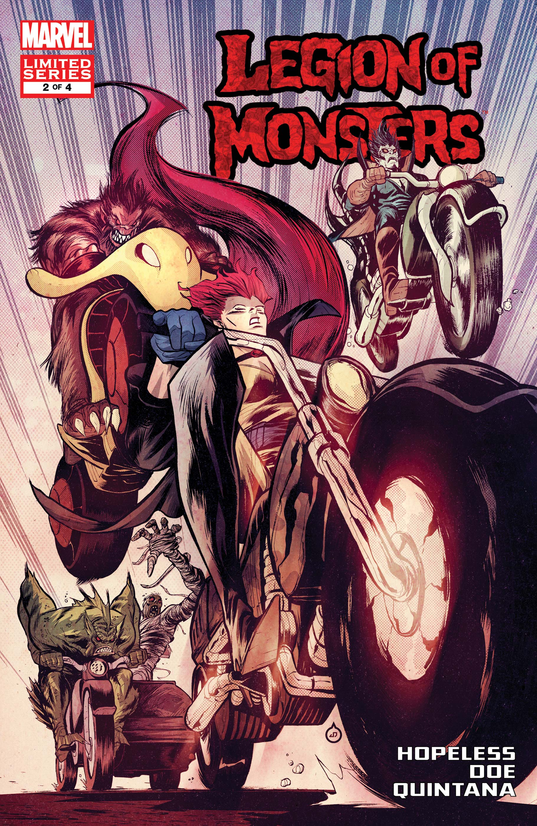 Legion of Monsters (2011) #2