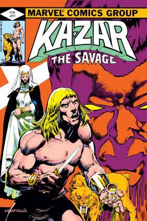 Ka-Zar (1981) #11