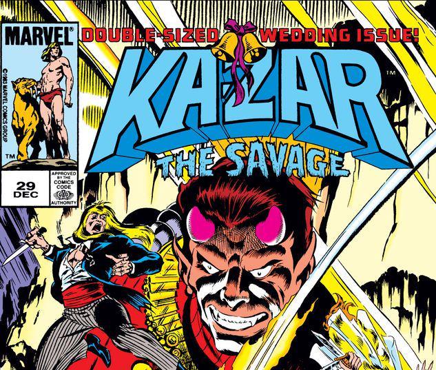 Ka-Zar the Savage #29