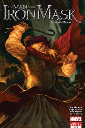 Marvel Illustrated: The Man in the Iron Mask #5