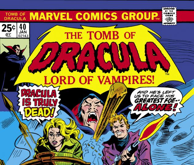 Tomb of Dracula (1972) #40 Cover
