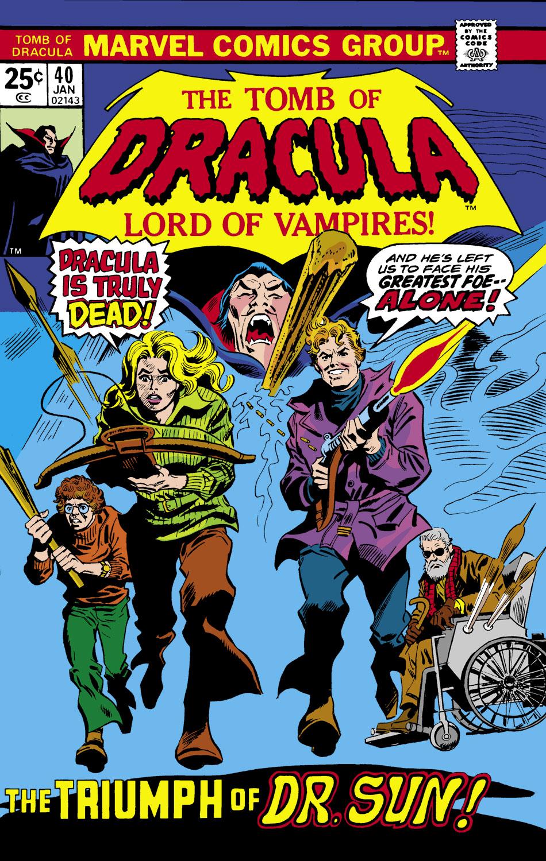 Tomb of Dracula (1972) #40