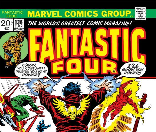 Fantastic Four (1961) #136 Cover