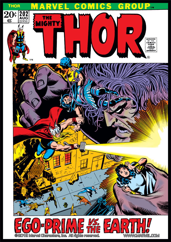 Thor (1966) #202