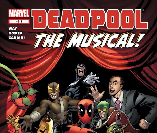 Deadpool (2008) #49.1 Cover