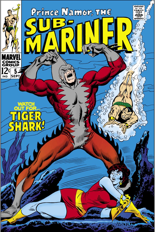 Sub-Mariner (1968) #5