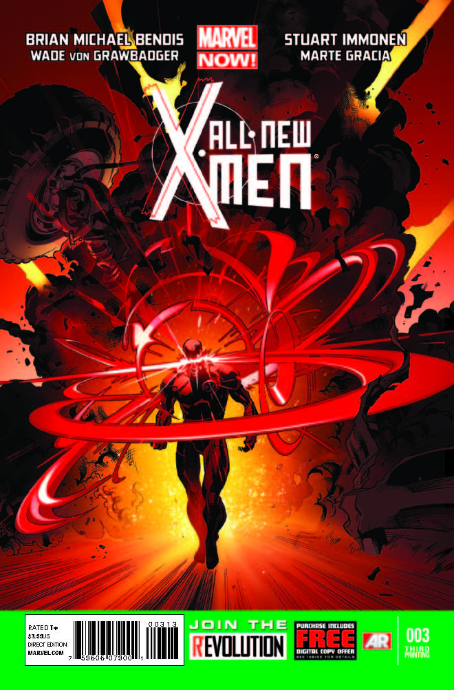 All-New X-Men (2012) #3 (3rd Printing Variant)