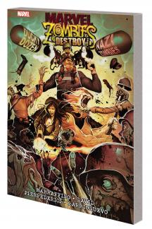 Marvel Zombies Live (Trade Paperback)