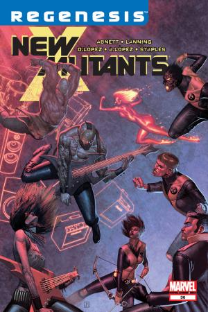 New Mutants (2009) #36