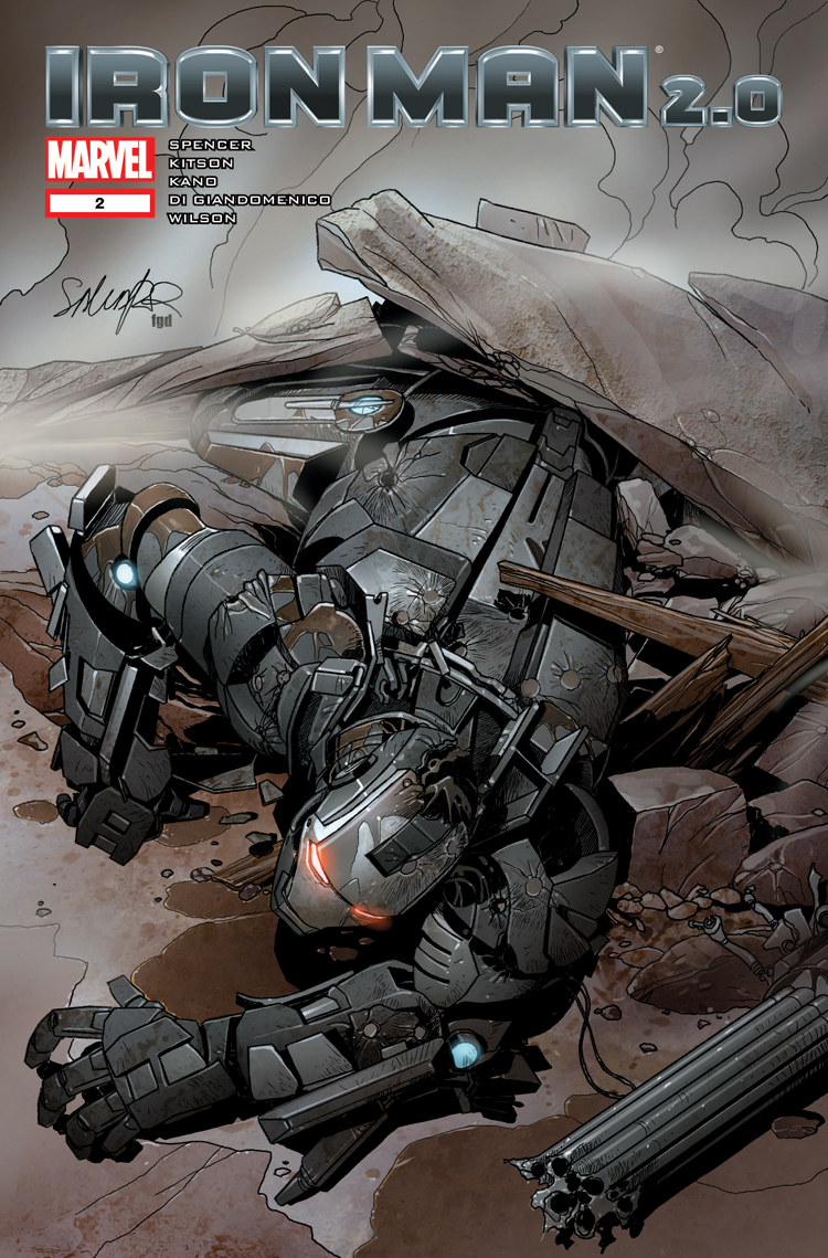 Iron Man 2.0 (2011) #2