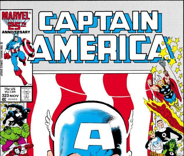 Captain America (1968) #323 Cover