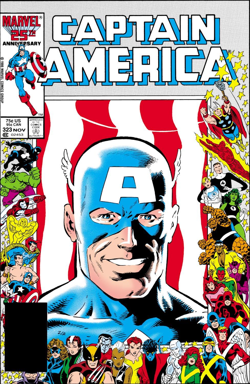 Captain America (1968) #323