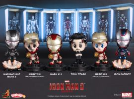 Hot Toys Iron Man 3: Cosbaby Series 2