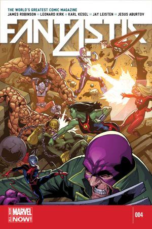Fantastic Four (2014) #4