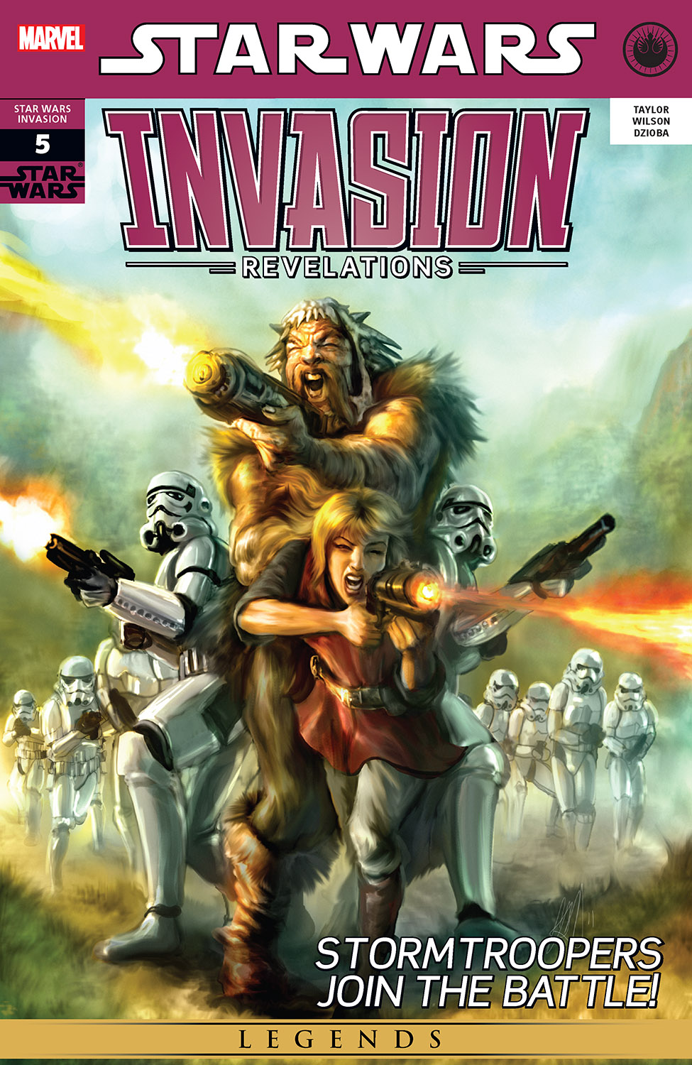 Star Wars: Invasion - Revelations (2011) #5