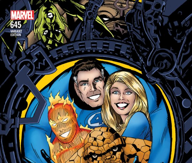 FANTASTIC FOUR 645 GOLDEN CONNECTING VARIANT (WITH DIGITAL CODE)