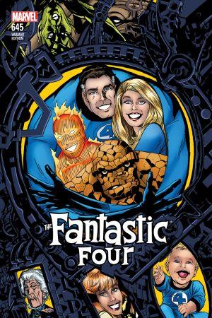 Fantastic Four (2014) #645 (Golden Connecting Variant)