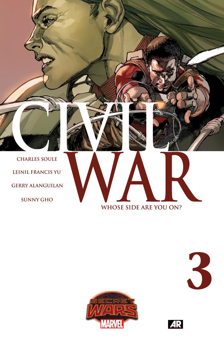 Civil War (2015) #3