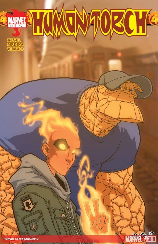 Human Torch (2003) #12