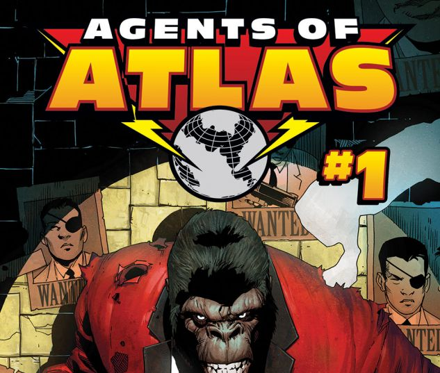 SECRET WARS: AGENTS OF ATLAS 1 (WITH DIGITAL CODE)