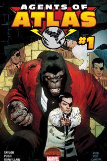 Secret Wars: Agents of Atlas (2015) #1